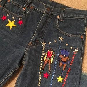 ✨Vintage RARE Levi's jeans size W28 L34✨